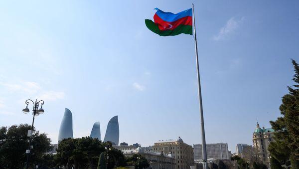 Флаг Азербайджана, фото из архива - Sputnik Азербайджан