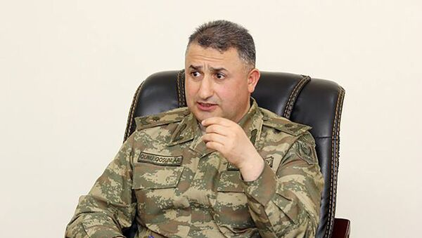 General-mayor Hikmət Həsənov - Sputnik Азербайджан