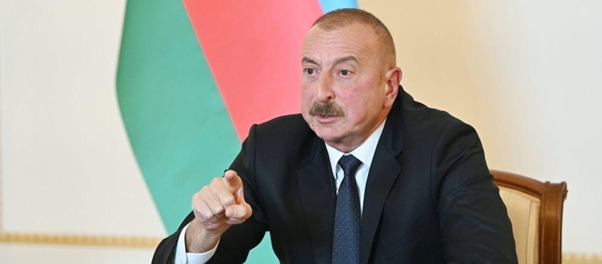 Президент Ильхам Алиев - Sputnik Азербайджан, 1920, 26.02.2021