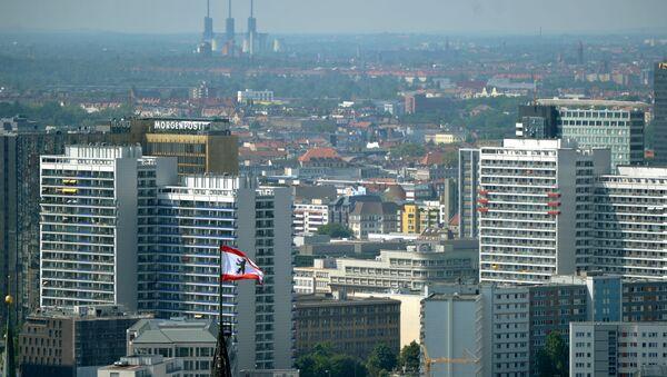 Вид на город Берлин, фото из архива - Sputnik Azərbaycan