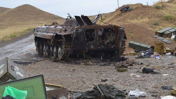 Военная техника, захваченная в ходе сражений - Sputnik Azərbaycan
