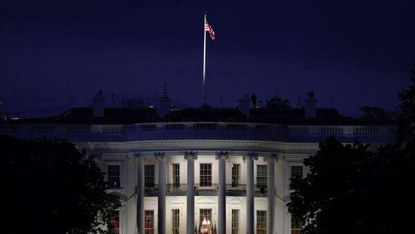 Белый дом в Вашингтоне, фото из архива - Sputnik Azərbaycan