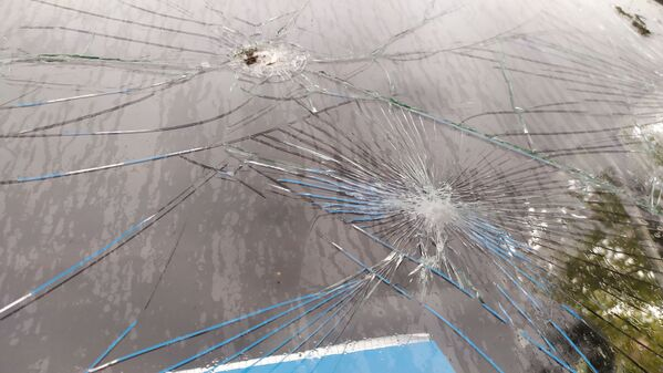 Последствия обстрелов в Агдамском районе Азербайджана  - Sputnik Азербайджан