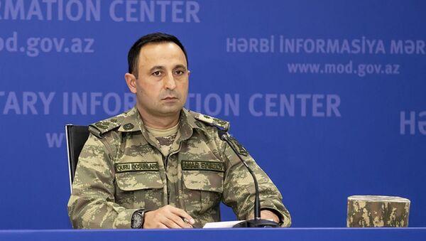 Пресс-секретарь Министерства обороны Анар Эйвазов - Sputnik Азербайджан