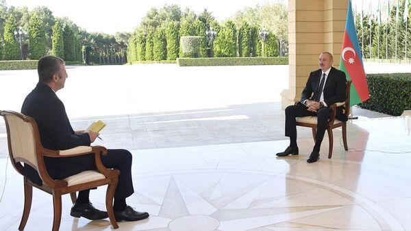 Президент Азербайджанской Республики Ильхам Алиев дал интервью телеканалу CNN Türk - Sputnik Азербайджан