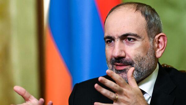 Премьер-министр Армении Никол Пашинян, фото из архива - Sputnik Азербайджан