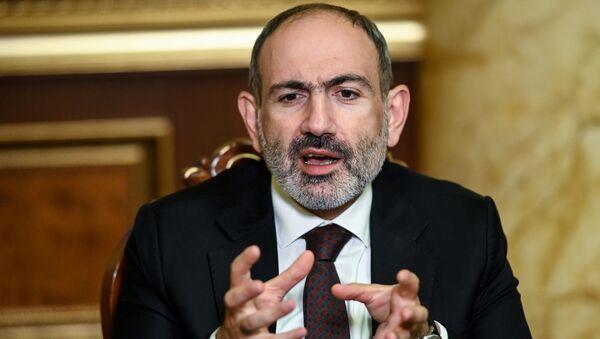 Премьер-министр Армении Никол Пашинян, фото из архива - Sputnik Azərbaycan