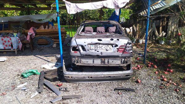 Последствия обстрела села Имамгулбейли в Агдамском районе Азербайджана - Sputnik Азербайджан
