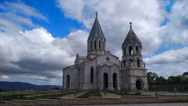 Собор Сурб Казанчецоц в Шуше - Sputnik Azərbaycan