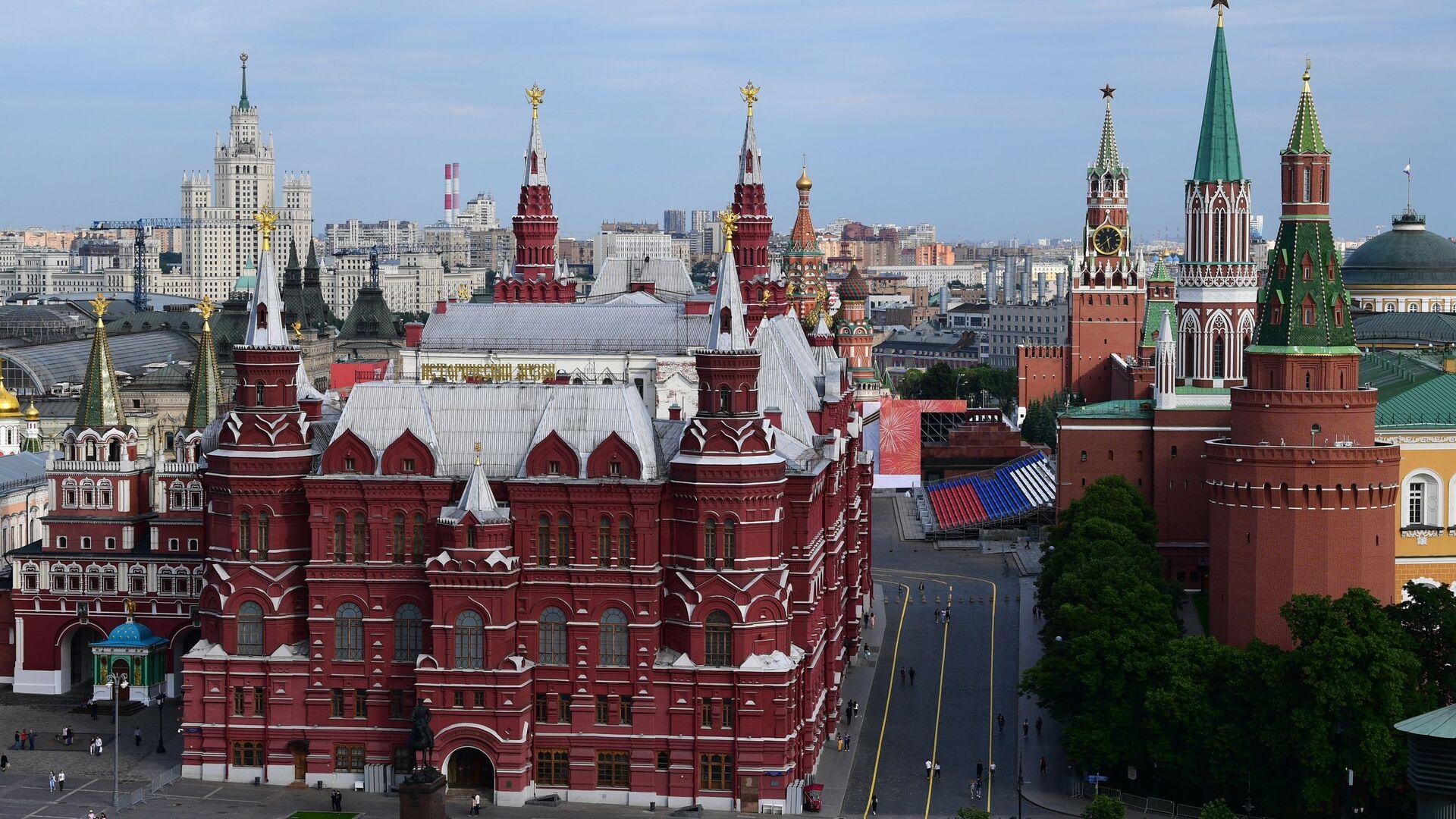 Вид на Кремль в центре Москвы, фото из архива - Sputnik Азербайджан, 1920, 13.10.2021