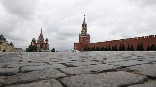 Вид на Кремль в центре Москвы, фото из архива - Sputnik Азербайджан