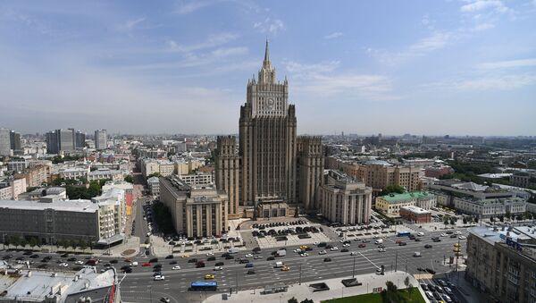 Здание Министерства иностранных дел Российской Федерации, фото из архива - Sputnik Азербайджан