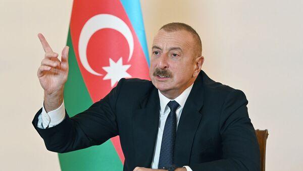 İlham Əliyev, arxiv şəkli - Sputnik Азербайджан