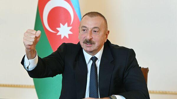 İlham Əliyev, arxiv şəkli - Sputnik Azərbaycan