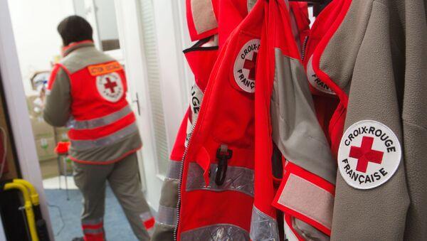 Сотрудник Красного Креста, фото из архива - Sputnik Azərbaycan