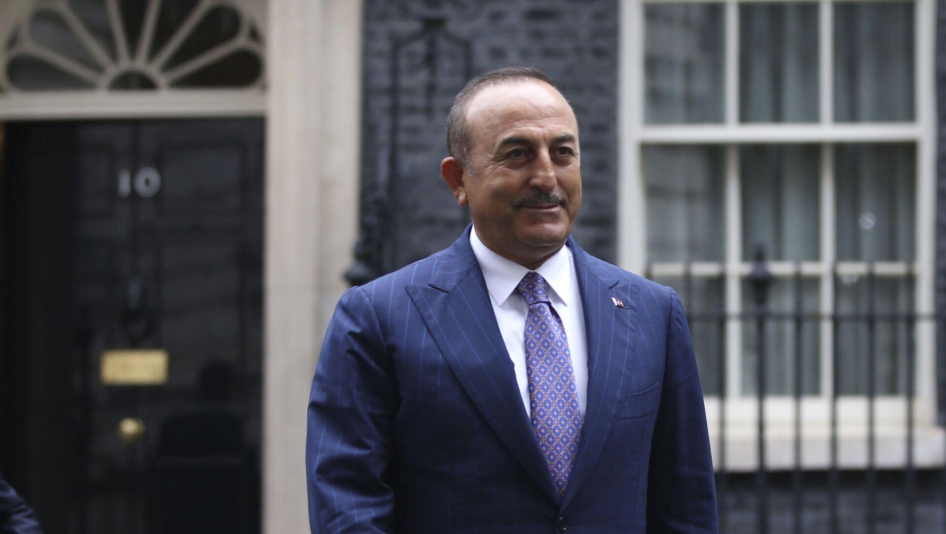 Министр иностранных дел Турции Мевлют Чавушоглу, фото из архива - Sputnik Азербайджан, 1920, 01.02.2021