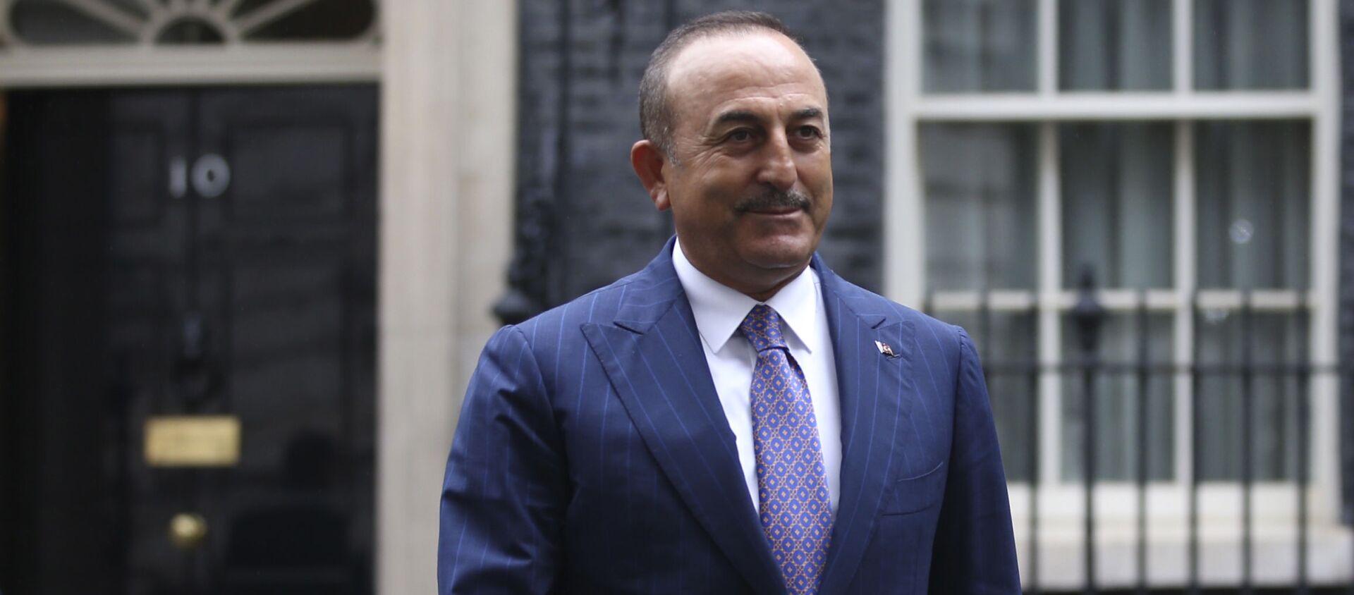Министр иностранных дел Турции Мевлют Чавушоглу, фото из архива - Sputnik Азербайджан, 1920, 23.04.2021