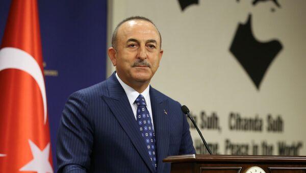 Министр иностранных дел Турции Мевлют Чавушоглу, фото из архива - Sputnik Азербайджан