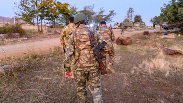 Азербайджанские военнослужащие, фото из архива - Sputnik Азербайджан