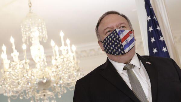 Госсекретарь США Майк Помпео, фото из архива - Sputnik Azərbaycan