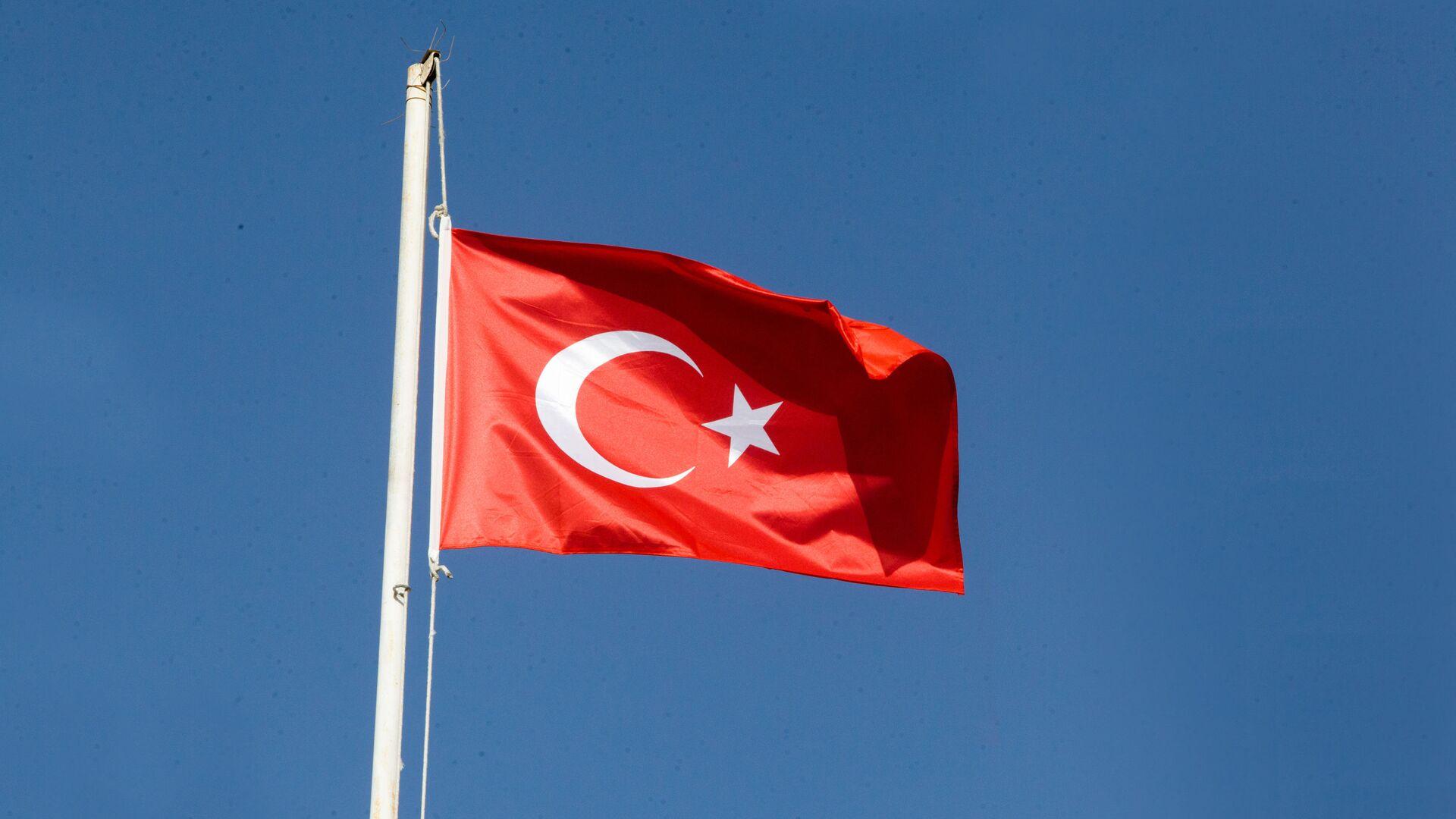 Флаг Турции, фото из архива - Sputnik Azərbaycan, 1920, 29.08.2021