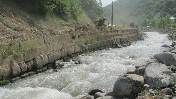 Река Тертерчай, фото из архива - Sputnik Азербайджан
