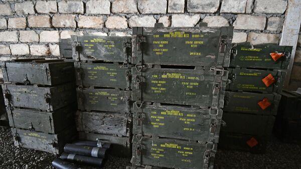 Военные трофеи, оставленные ВС Армении на поле боя - Sputnik Азербайджан