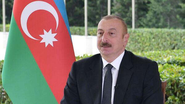 """İlham Əliyev Yaponiyanın """"Nikkei"""" qəzetinə müsahibə verib - Sputnik Азербайджан"""