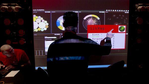 Хакер, фото из архива - Sputnik Азербайджан