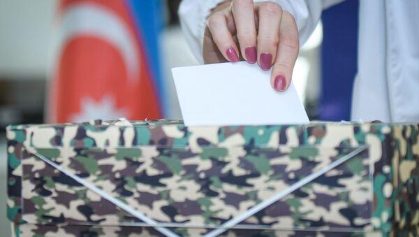 Проект «Письмо солдату» организации «ASAN Könüllüləri» - Sputnik Azərbaycan