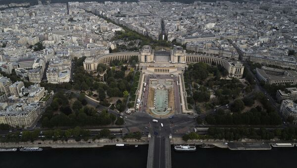 Вид на город Париж, фото из архива - Sputnik Azərbaycan