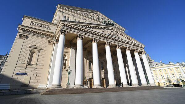 Здание Большого театра, фото из арива - Sputnik Азербайджан