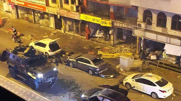 Türkiyənin Hatay vilayətində İsgenderun rayon mərkəzində terror aktı - Sputnik Azərbaycan