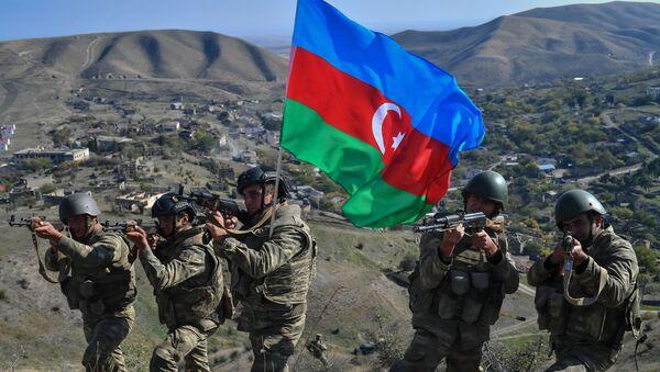 Azərbaycan hərbçiləri, arxiv şəkli - Sputnik Азербайджан