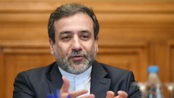 Заместитель министра иностранных дел Ирана Аббас Арагчи, фото из архива - Sputnik Азербайджан