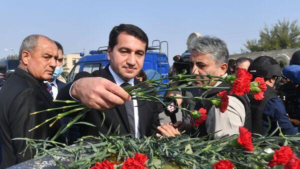 Помощник президента Азербайджана Хикмет Гаджиев, фото из архива - Sputnik Азербайджан
