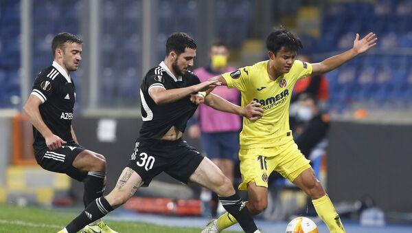 Матч 2-го тура групповой стадии Лиги Европы между ФК «Карабах» и испанским «Вильярреалом»  - Sputnik Азербайджан