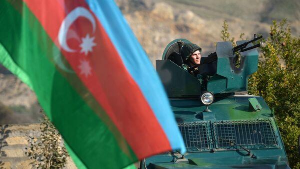 Xələflildə sərhəd zastavası - Sputnik Азербайджан