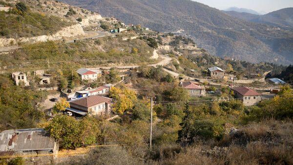 Вид город Лачин, Азербайджан, фото из архива - Sputnik Азербайджан