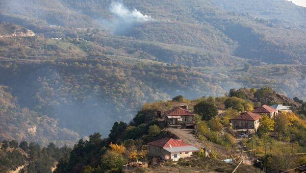 Вид на город Лачин, Азербайджан, фото из архива - Sputnik Азербайджан