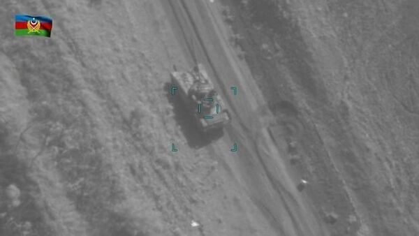 Уничтожены вражеские танки в боях под Ходжавендом - Sputnik Азербайджан