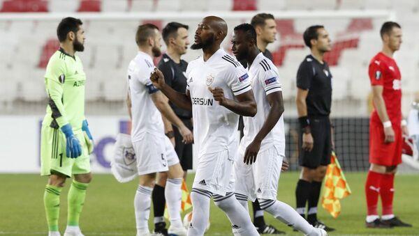 Матч 3-го тура групповой стадии Лиги Европы между турецким Сивасспором и азербайджанским Карабахом - Sputnik Азербайджан