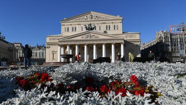 Здание Большого театра, фото из архива - Sputnik Азербайджан
