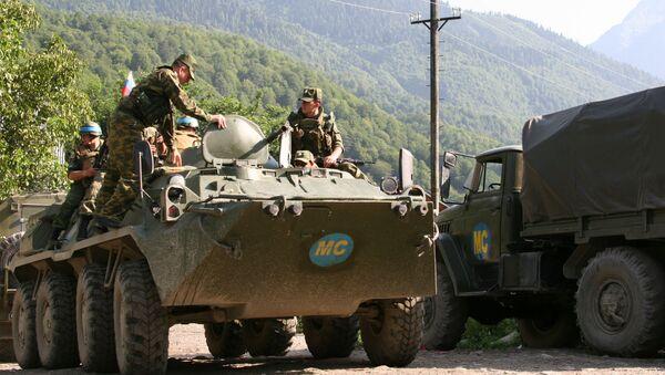 Российские миротворческие силы, фото из архива - Sputnik Азербайджан
