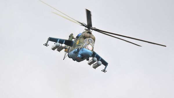 Вертолет Ми-24  - Sputnik Азербайджан