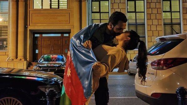 Азербайджанская супружеская пара Садиг и Лейла Фарзалибековы - Sputnik Азербайджан