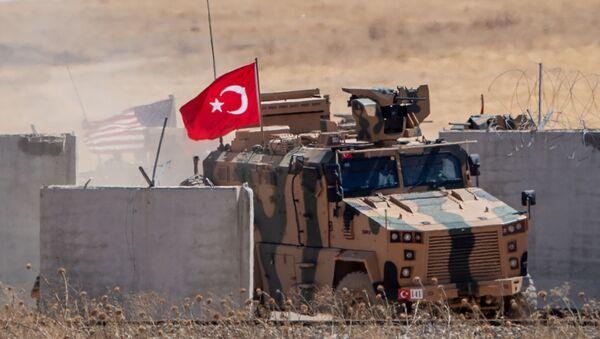 Турецкие миротворцы, фото из архива - Sputnik Azərbaycan