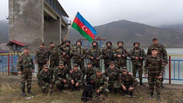 У Суговушанского водохранилища - Sputnik Азербайджан