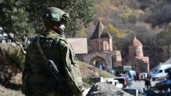 Российские миротворцы в Нагорном Карабахе - Sputnik Азербайджан