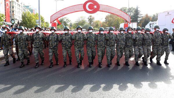 Турецкие военнослужащие, фото из архива - Sputnik Азербайджан